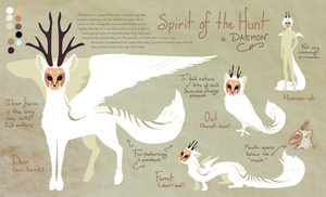 Spirit of the Hunt Ref by Galadnilien
