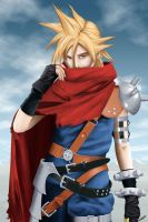 Cloud Strife - Kingdom Hearts by Hitokirisan