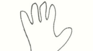 The Chainy Hand Print by EarWaxKid