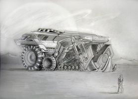 vehicle concept by StefanTistu