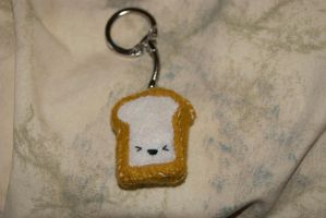 Toast keychain 2 by CraftyFeawen