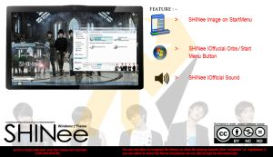 [ 2012 theme ] SHINee Windows 7 Theme by HKK98