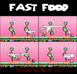 Fast Food by Zsy