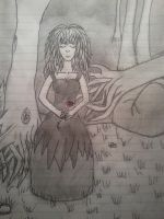 Rose in the forest by Devynae