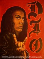 Ronnie James Dio by asamamoru