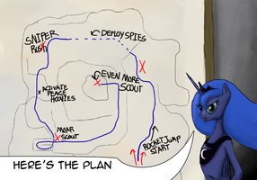 Luna's Plan by AaronMk