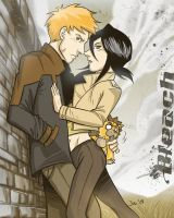 Bleached Couple Dos by Poorboy-Comics