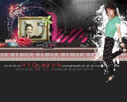 SNSD Hyo Yeon Wallpaper by kairomon