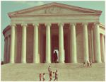 Jefferson  memorial. by SeiMissTake