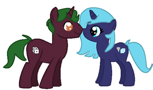 Le new OC Couple~ by XMLP-FIM-BasesX