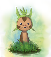 Chespin by Noahlitz