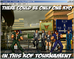 There could be Only one Kyo in this KOF Tourney by Yagoshi