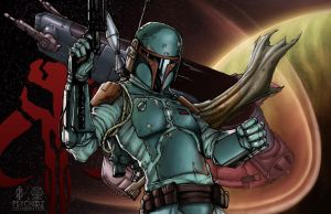 Boba Fett by ChrisOzFulton