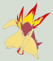 Shiny Typhlosion PAWNCHES by Artrookie--yup