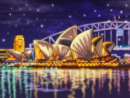 Sydney by godfathersky