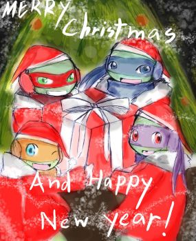Merry-christmas-and-happy-new-year!! by Lturtlelo