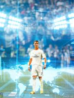 Cristiano Ronaldo Real Madrid wallpaper 2013 by jafarjeef
