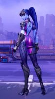 Widowmaker - Over the shoulder by youknowwho77