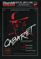 Cabaret Poster by legley