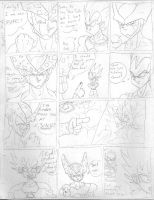 Cell funnies-Vegetas pride by Camron23