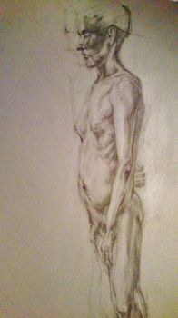 Life Drawing by AGjerdevik