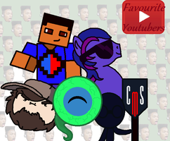 Favourite YouTubers by AlicornGamer