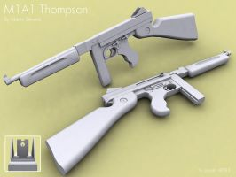 M1A1 Thompson by Erghize