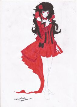 Demon in red by metanol33