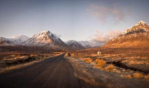 Glencoe morning panorama by the-kayaker