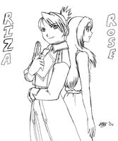 Riza and Rose by KittyKross