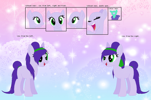My Little Pony: Ophelia Orphan reference sheet by EddaAkatsukiller