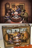 Kill Dr Lucky box art by namesjames