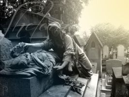 Tombe du Pere-Lachaise I* by Thelema001