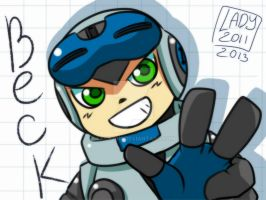 Beck from Mighty No.9 by Lady2011