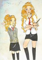 Small and teen Rose Weasley by MissFreakyLuce