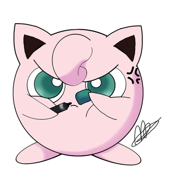 Jigglypuff by Katerinagraphics