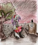 in a cementery... by kia-hedgehog