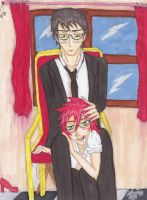 William T. Spears x Grell Sutcliff // Young by DemonBarberLucy