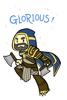 Smite - Glorious! (Chibi) by Zennore