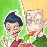 MTR::. im eatin this carrot k by MarticusProductions