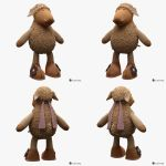 Toy Sheep Nici 001 by Semsa