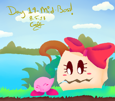KC Day 14 - Mid Boss by CinnamonMuffins