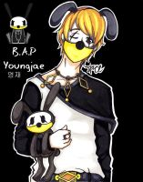 COLORED B.A.P Youngjae by DesignerJACE
