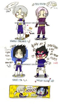 Naruto+DBZ- T.T Bad Crossovers by mingming07