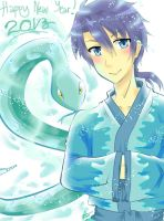 Water Snake_2013 by reese-yamawe