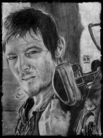 Daryl Dixon - The Walking Dead by RenanRossi