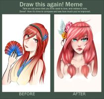Milotic - Draw this Again! Meme by TheCookieMonster78