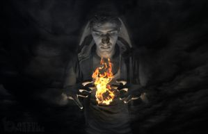 The mind is not a vessel to be filled but a fire t by BASSELMAZZAZ