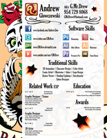 Resume Aug '12 by GMrDrew