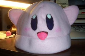 Kirby Hat :3: by darkkerra